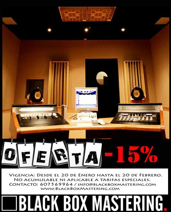 Oferta Mastering -15% en Enero de 2014